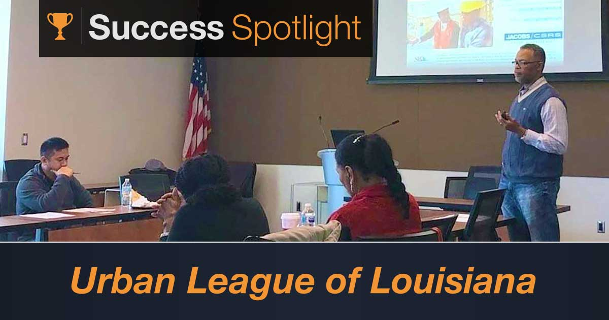 Success Spotlight: Urban League of Louisiana