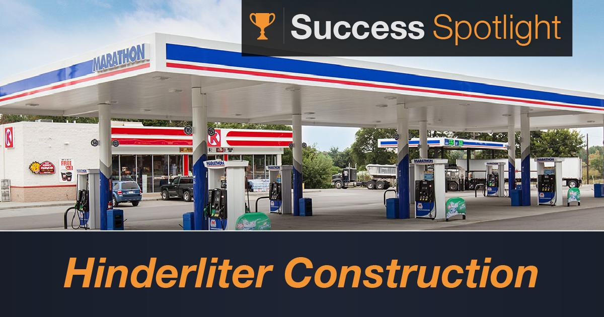 Success Spotlight: Hinderliter Construction