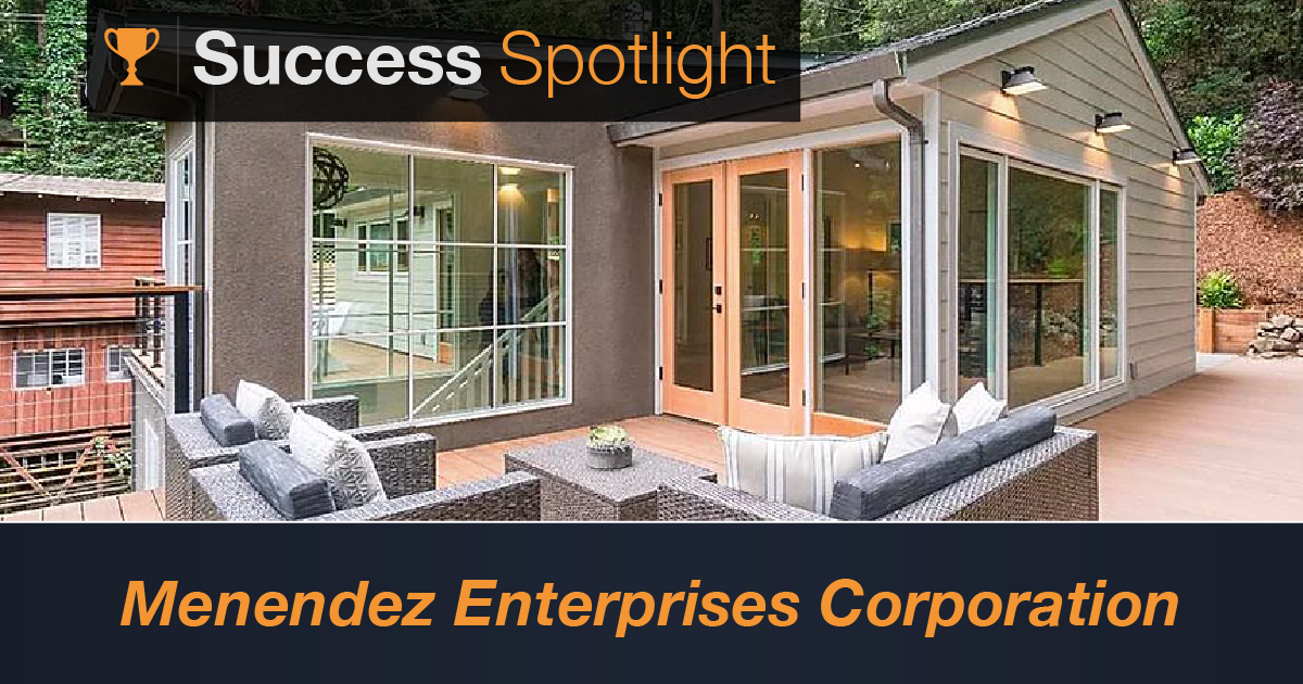 Success Spotlight: Menendez Enterprises Corporation