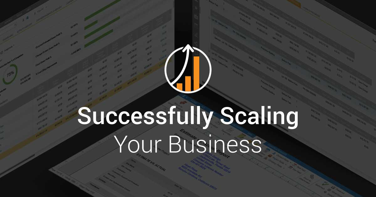 3 Factors Essential to Successfully Scaling Your Business