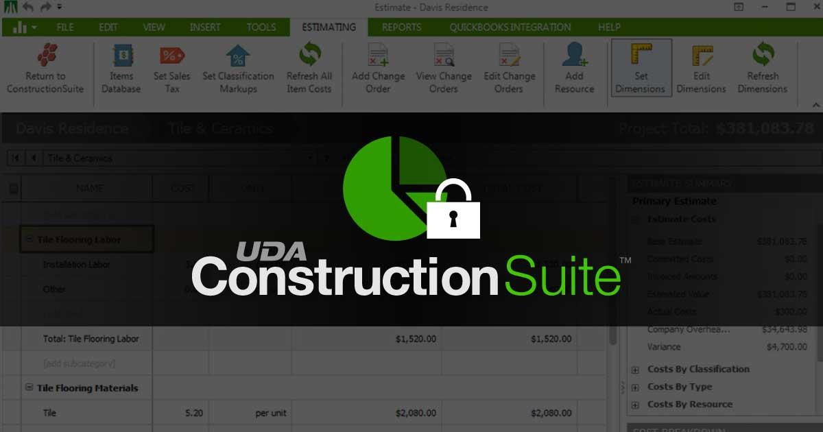 ConstructionSuite Secret Hacks: Locking Estimates