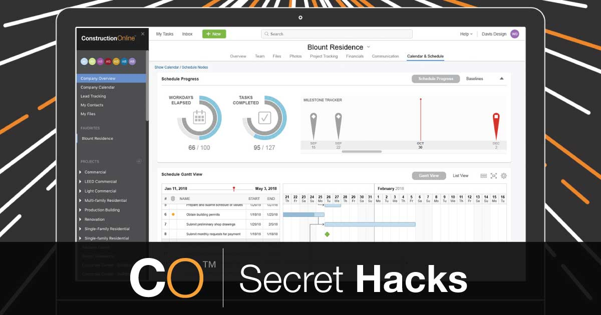 ConstructionOnline Secret Hacks: Compress Schedule