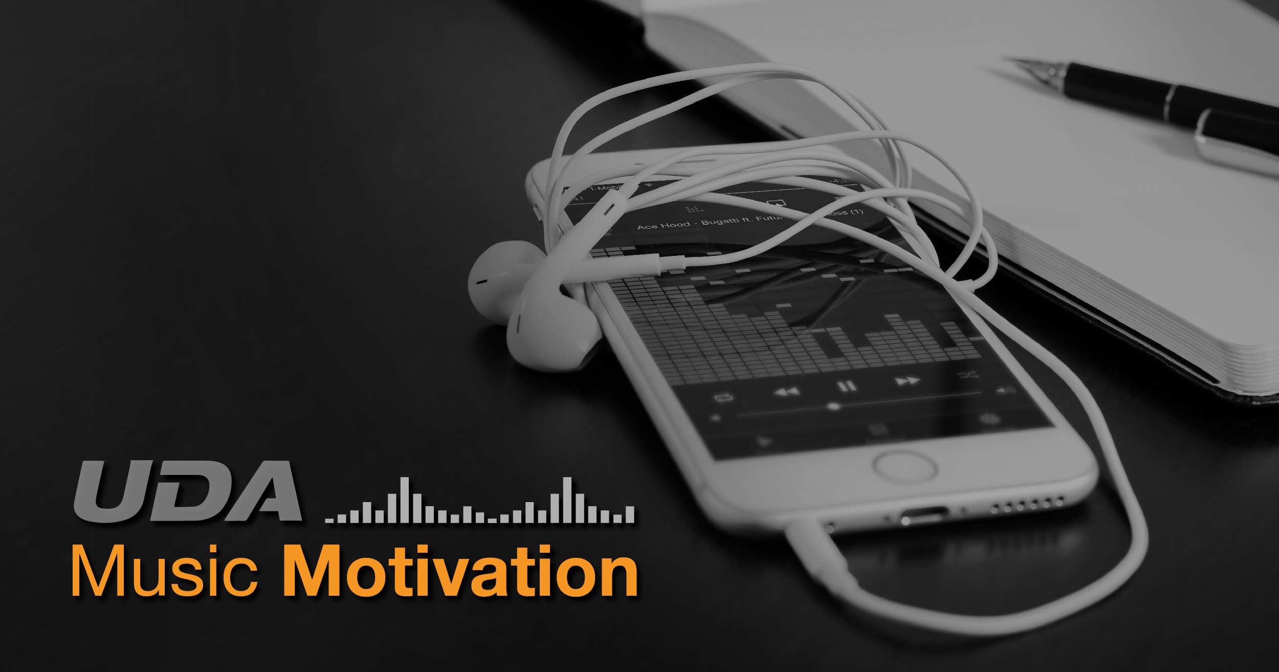Music Motivation: Less Words, More Work