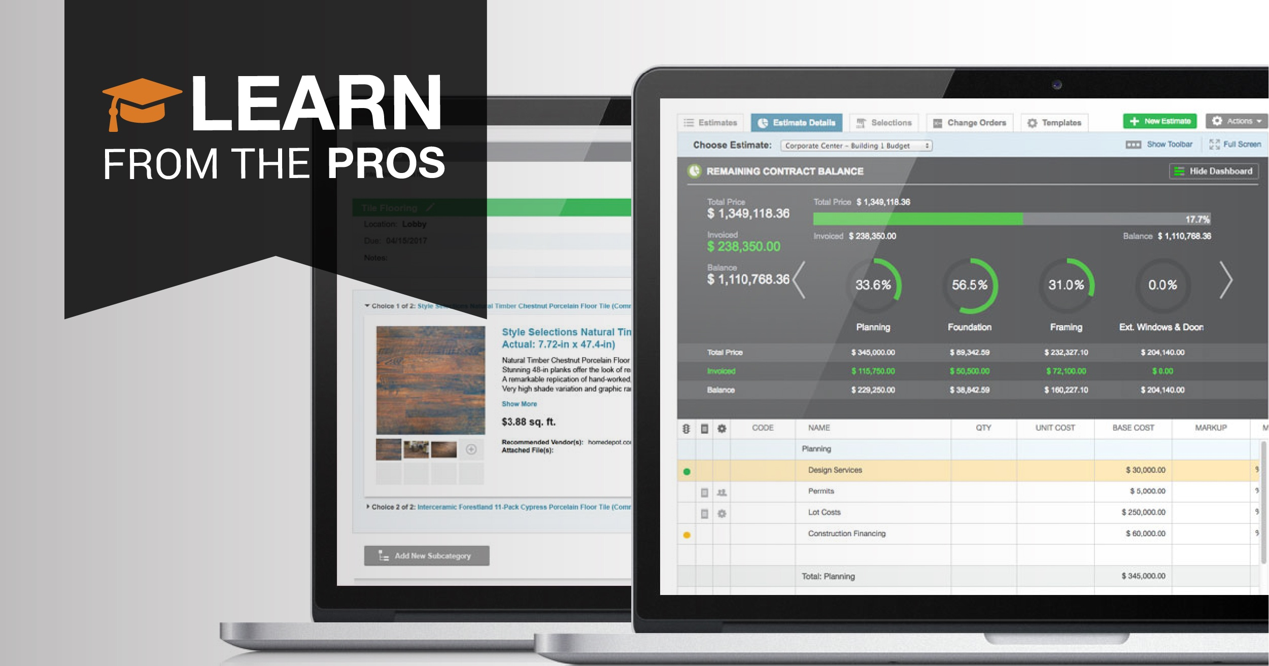 Learn From the Pros: Estimating